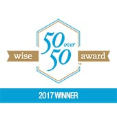 Wise 50Over50 Award