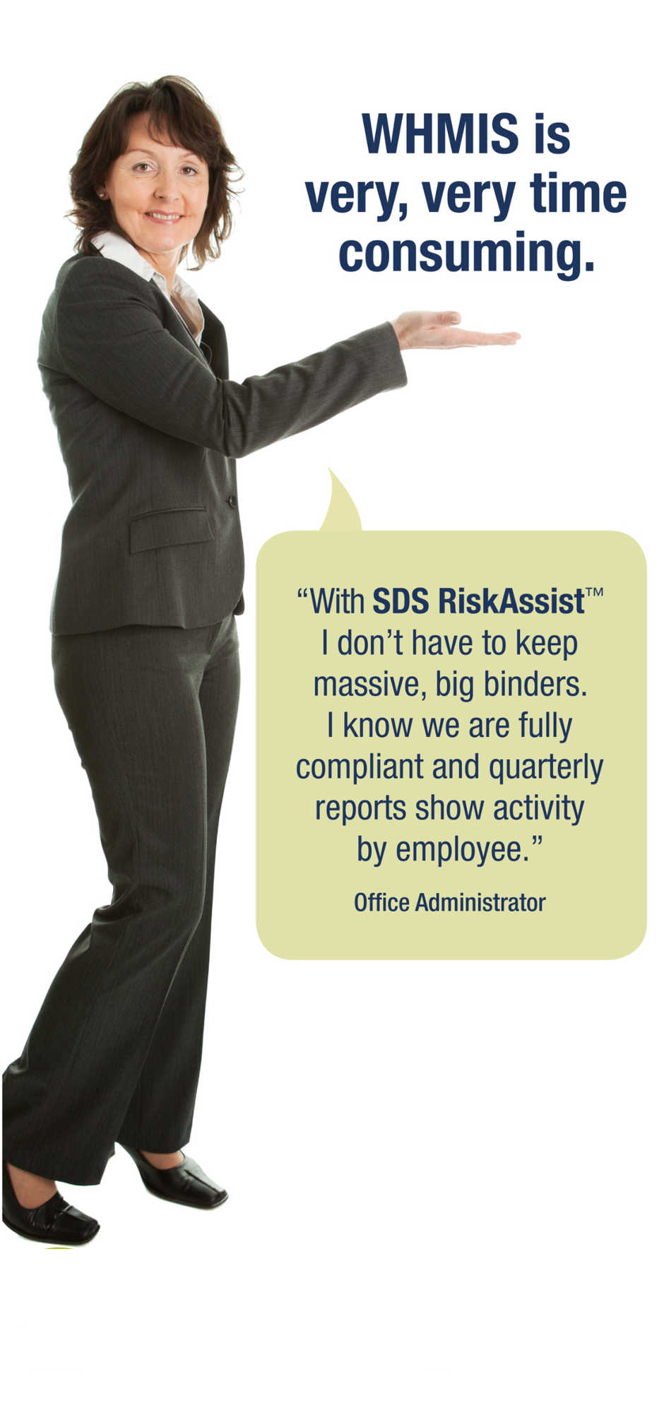 Health Admin Benefits from SDS RiskAssist™
