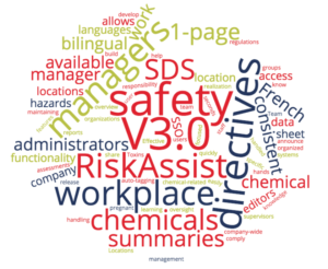 SDS RiskAssist™ V3 Word Cloud