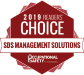 SDS RiskAssist™ 2019 COS Mag Award Winner's Badge SDS Management Solutions