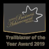 Quinte Trailblazer of the year 2019