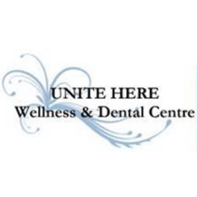 Unite Here Wellness & Dental Centre Logo