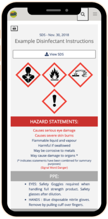 SDS RiskAssist on Iphone showing version 5 home screen