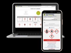 SDS RiskAssist™ Smart SDS Management Laptop and Mobile