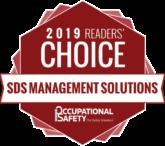 SDS RiskAssist™ 2019 COS Mag Award Winner's Badge SDS Management Solutions
