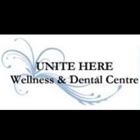 Unite Here Wellness & Dental Centre Logo